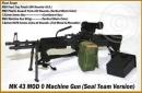 MK 43 MOD 0 MG mit Zubehör