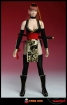 Japanese Fighting Girl - black/gold