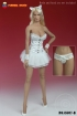 Basque Corset Set - white