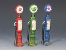 Petrol/ Gas Pumps (set of 3)