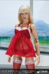 Lacie Babydoll Lingerie Set - rot