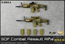 SOF Combat Assault Rifle - desert (2 St�ck)