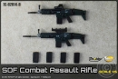 SOF Combat Assault Rifle - black (2 Stück)
