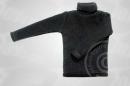 Rollkragenpullover - schwarz
