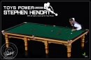 Snooker Player Hendry w/ Snooker Table