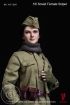 Soviet Red Army Female Sniper