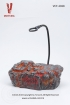 Display-Stand (Rock) - can light