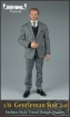 Gentelman Grey-Striped Suit Set 2.0