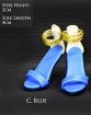 High Heels Catwalk 1 Type C - Blau
