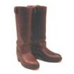 Western Stiefel aus Ziegenleder, braun