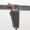 Doppel Holster f�r Colt .45 - black leather