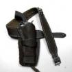 Holster für Colt .45 - black leather