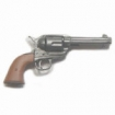 Colt .45 Peacemaker Revolver - red-brown grip