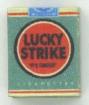 Lucky Strike Grün/Rot - Zigarettenschachtel