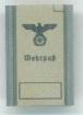 Wehrpass, Wehrmacht