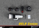 DSLR Camera mit 3 Objektiven und Zubehör