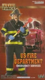 US Fire Department - Feuerwehrmann