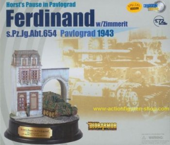 1:72 Ferdinand - s.Pz.Jg.Abt.654 - Exclusive