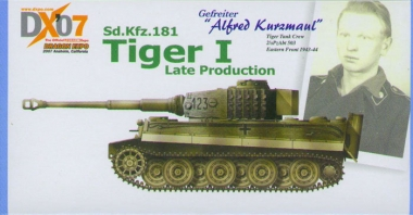 Tiger I - Alfred Kurzmaul - DX07 US Exclusive