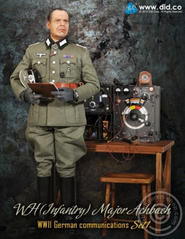 Major Achbach - WH Funker Set