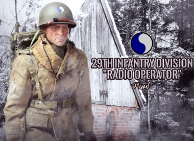 Paul - 29th Inf. Div. Radio Operater - Christmas Edition