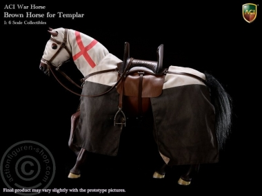 Pferd - Braun - für Tempel Ritter
