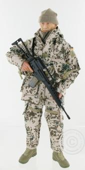 Bundeswehrsoldat Wüsten-Tarn - lim. Edition D