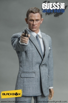 Agent James - Version B (light-grey)