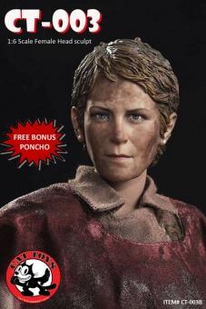 Carol - TWD - Bloody Version Head