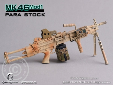 MK46MOD1-para stock - camouflage