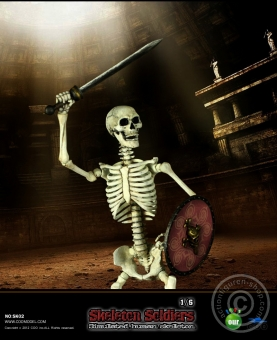 Skeleton Soldier - Human Skeleton in 1:6