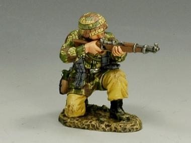 Kneeling Firing Rifle