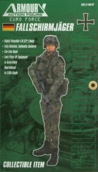 Deutscher Fallschirmjäger der Bundeswehr