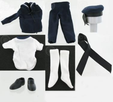 WW-II Matrosen Uniform - blau