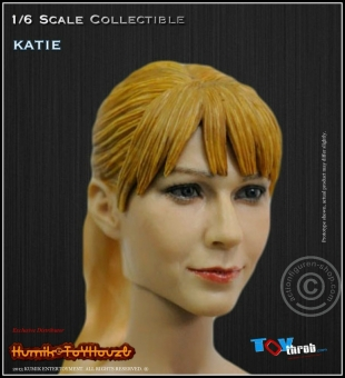 Katie - Kopf - Blond -  KUMIK