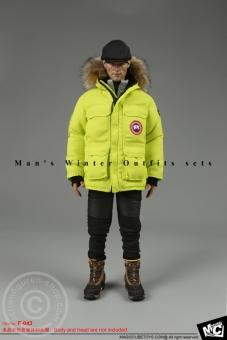 Men Winter Outfit Set