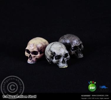 Totenschädel - 3 Stück