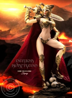 Demon Huntress - 2016 CICF EXPO Exclusive