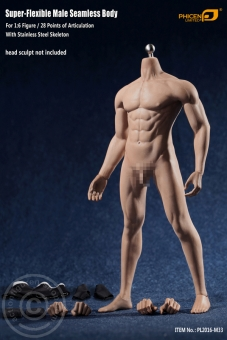 Super Flexibel Male Seamless Body