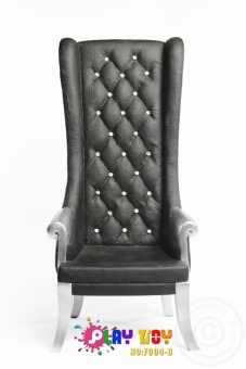 High Back Chair - Black