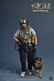 SDU - Assault K9 - HK Police