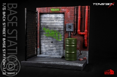 Back Street Base Station - Diorama 1