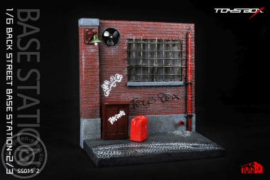 Back Street Base Station - Diorama 2
