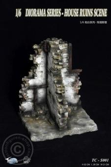 Haus Ruinen Szene - Diorama