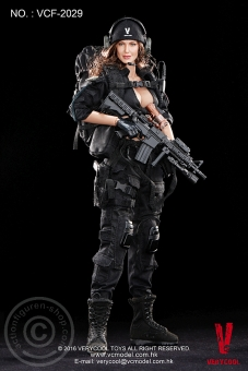 Female Shooter - Black Version