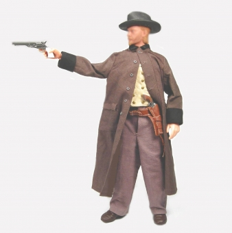 The Guy with the long Coat - Western Figur