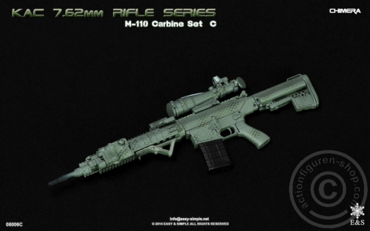 M110 Carbine KAC 7.62 Rifle Set - Chimera
