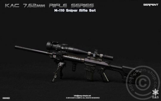 M110 Carbine KAC 7.62 Rifle Set - Serpent