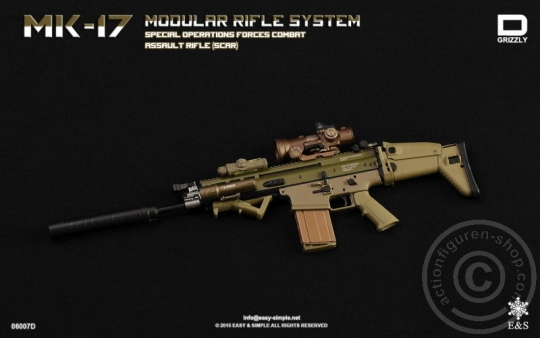 MK17 Modular Rifle System - Version D