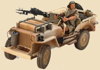 Jeep Desert Patrol Vehicle